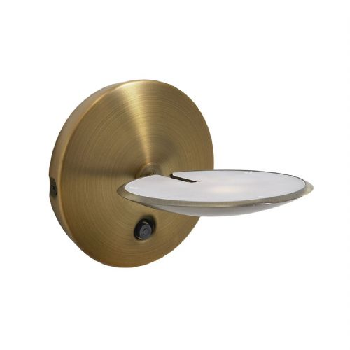 OUNDLE Wall Light BRONZE LED (Class 2 Double Insulated) BXOUN0763-17